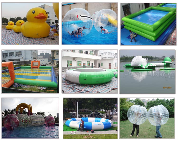 Inflatable Pools water